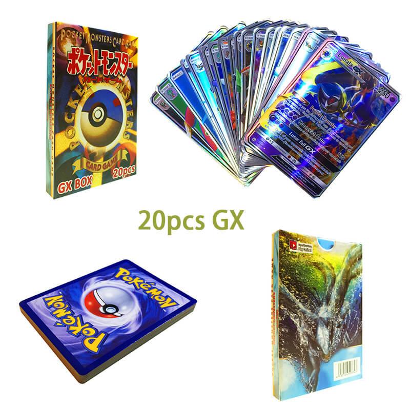 20 GX PCS SHINING POKEMON CARD-1