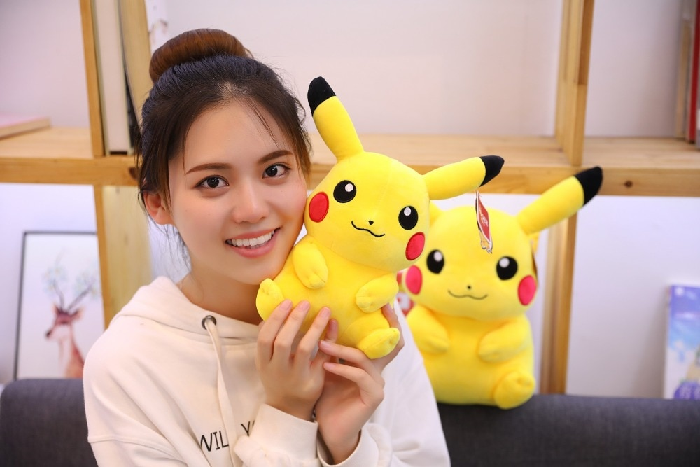 very large Pikachu plush toys Big size Full Pillow Stuffed doll appease baby birthday present for Children kids