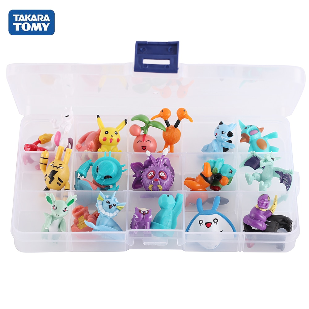 Pokemones 2-3cm Action Elf Ball Figure Mini figures charizard Model Toy Brinquedos Collection Anime Kids Doll