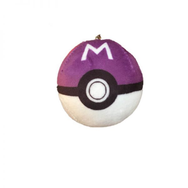 keychain plush ball-3