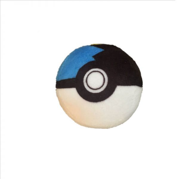 keychain plush ball-4
