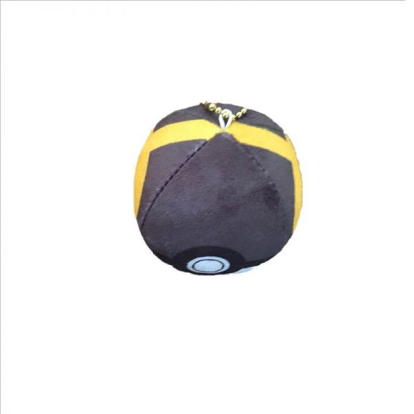 keychain plush ball-5
