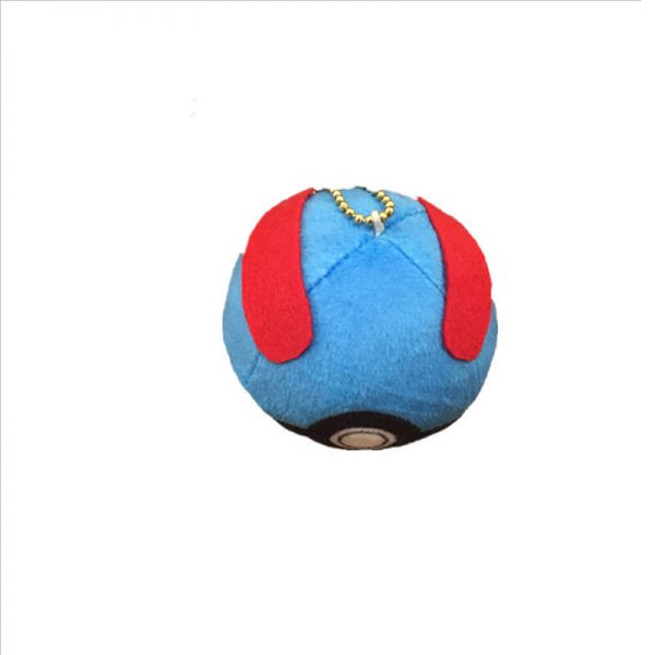 keychain plush ball-6